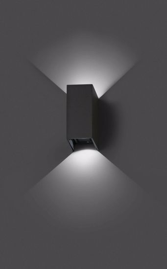 Picture of FARO OUTDOOR LED WALL LAMP 2X3W DRIV INCL 3000K DIRECTABLE LIGHT BEAM