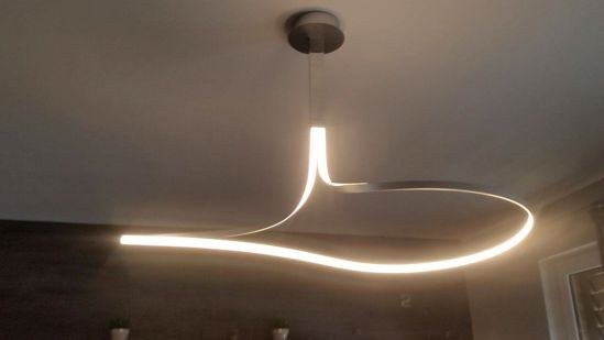 Picture of LED PENDANT LIGHT ULTRAMODERN IN METAL 40W