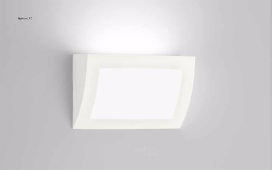 Picture of ISYLUCE WALL LAMP LED 18W IN GYPSUM CAN BE PAINTED