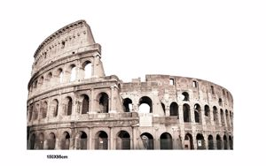 Picture of MANIE WALL ARTWORK SAGOMA COLOSSEUM IN ROME 150X95 FOREX