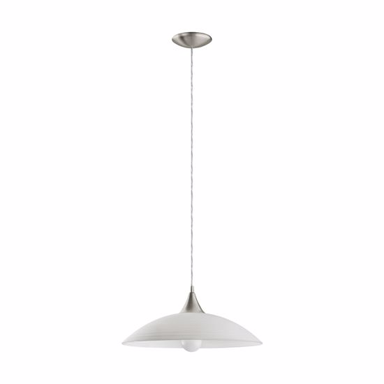 Picture of EGLO LAZOLO MODERN GLASS PENDANT LIGHT FOR KITCHEN/LIVING ROOM