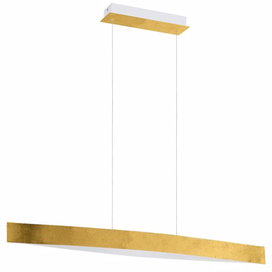 Picture of EGLO FORNES 93341LED PENDANT FOR TABLE GOLD LEAF