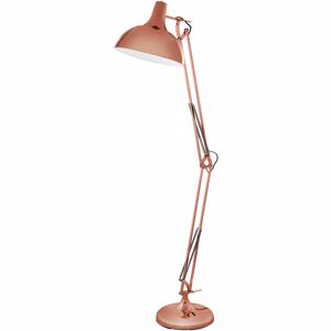 Picture of VINTAGE FLOOR LAMP COPPER COLOUR DESIGN