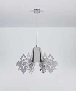 Picture of EMPORIUM AMARILLI SUSPENSION LAMP METACRYLATE CROMOLITE