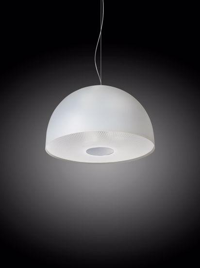Picture of EMPORIUM BRUNELLA SUSPENSION LAMP OPAL WHITE METACRYLATE