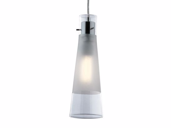 Picture of GLASS KITCHEN ISLAND PENDANT LIGHT IDEAL LUX KUKY CLEAR SP1 TRANSPARENT