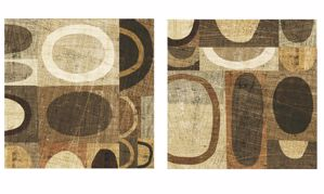Picture of MANIE 2 ETHNIC ABSTRACT WALL ARTWORK 120x120CM PRINT ON