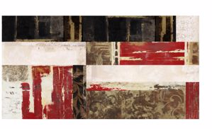 Picture of MANIE WALL ARTWORK ABSTRACT PRINT ON CANVAS 140X70