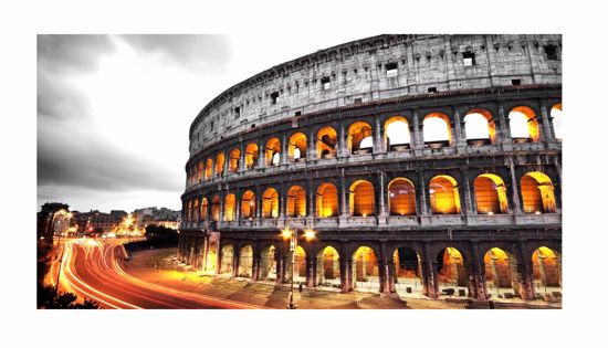 Picture of WALL ARTWORK COLOSSEUM ROME 140X70 CANVAS PRINT