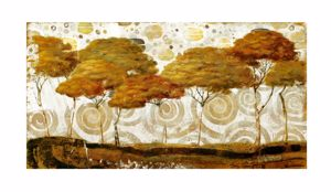 Picture of MANIE WALL ARTWORK TREES PRINT ON CANVAS 200X120