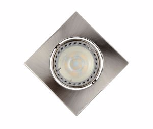 Picture of RECESSED SPOTLIGHT MODERN DESIGN NICKEL FINISH DIMMABLE LIGHT