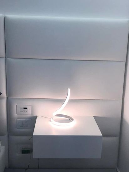 Picture of TABLE LAMP LED MODERN DESIGN IN METAL 15W