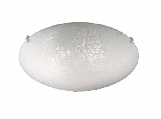 Picture of IDEAL LUX LANA GLASS CEILING LAMP PL2 Ø30CM