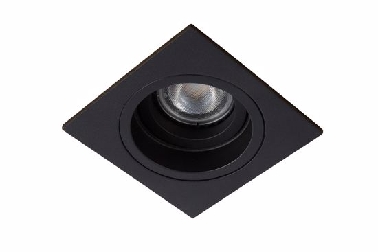 Picture of BLACK METAL CEILING RECESSED LIGHT ADJUSTABLE LIGHT
