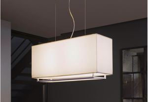 Picture of LAMPADARIO MODERNO IN TESSUTO BEIGE E27 LED