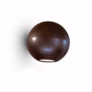 Picture of LINEA LIGHT PELOTA ADJUSTABLE WALL LAMP WENGE BI-EMISSION