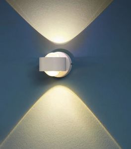 Picture of EGLO ONO 2 LED WALL LIGHT MODERN DESIGN WHITE FINISH  CURVED OPTICS