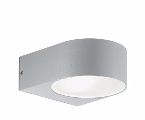Picture of EXTERNAL GREY WALL LIGHT FOR GARDEN IDEAL LUX IKO AP1