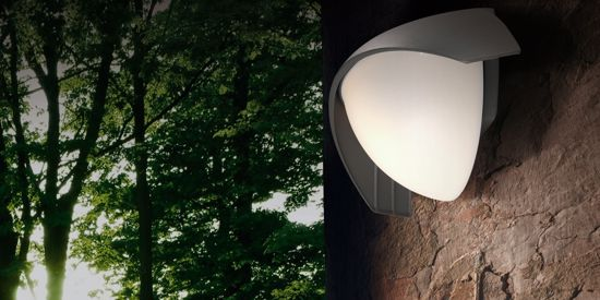 Picture of OUTDOOR CHARCOAL ALUMINIUM WALL LIGHT