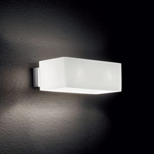Picture of IDEAL LUX BOX AP2 RECTANGULAR WHITE WALL LAMP