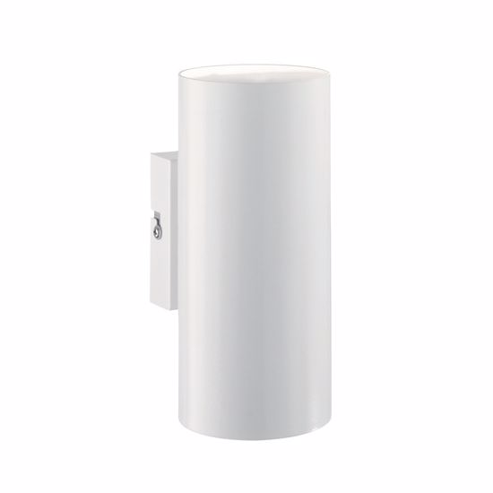 Picture of IDEALLUX HOT AP2CYLINDRICAL WALL LAMP DOUBLE EMISSION WHITE