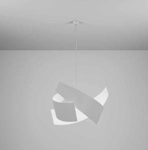 Picture of PENDANT LIGHT Ø65 MARCHETTI ELLA WHITE 3-LIGHT