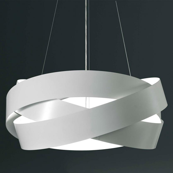 Picture of MARCHETTI PURA PENDANT LIGHT Ø60CM WHITE