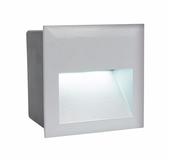 Picture of EGLO ZIMBA RECESSED WALL PATHMARKER  LED SQUARE FOR OUTDOOR