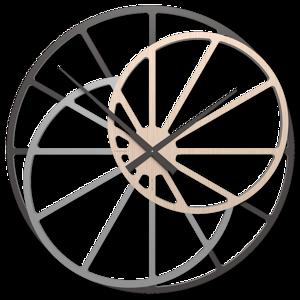Picture of CALLEA DESIGN THERESA GRANDE OROLOGIO 95CM MODERNO DA MURO  ROVERE DECAPE''