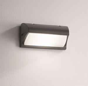 Picture of APPLIQUE DA ESTERNO IP54 E27 LED ANTRACITE DESIGN MODERNO
