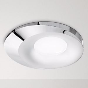Picture of FARETTO DA INCASSO A TETTO GU10 LED PER CONTROSOFFITTO CROMO DESIGN MODERNO