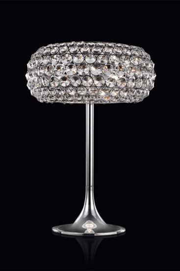 Picture of ILLUMINATI TABLE LAMP STAR WITH CRYSTALS BIG 53CM