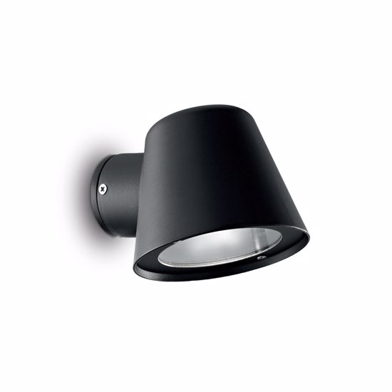 Picture of IDEALLUX GAS AP1 WALL LAMP FOR OUTDOOR IN DIE-CAST ALUMINUM BLACK