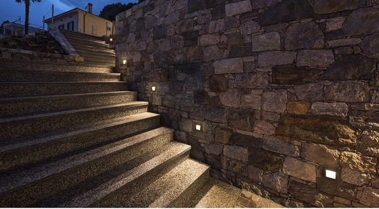 Picture of LED RECESSED PATHWAY WHITE LIGHT 14X14 IP55 3000K