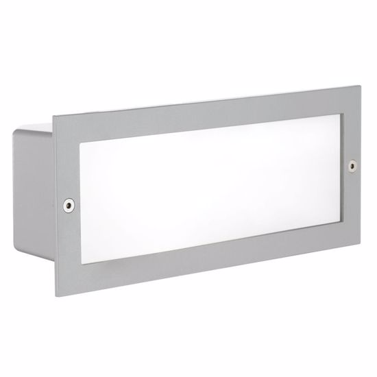Picture of EGLO RECESSED WALL PATHMARKERS GREY RECTANGULAR FOR OUTDOOR