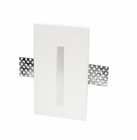 Picture of SIKREA LED GI636/40 GYPSUM TOTAL RECESSED FOOTPATH LED 1W 4000K