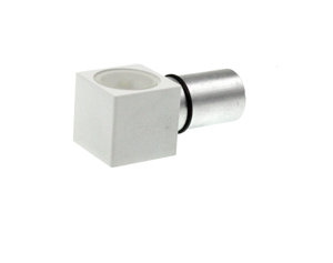 Picture of WHITE METAL RECESSED FOOTPATH LED 1W 4000K 120°