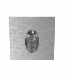 Picture of SIKREA LED SP516/A27 RECESSED FOOTPATH SPOTLIGHT ALUMINIUM 1W 2700K