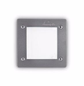 Picture of SEGNAPASSO LED DA ESTERNO INCASSO PARETE QUADRATO GRIGIO IP66 3W 4000K