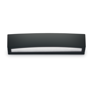 Picture of IDEAL LUX ANDROMEDA OUTDOOR WALL LAMP BLACK 2 LIGHTS 45CM