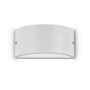 Picture of APPLIQUE DA ESTERNO CURVA IP44 BIANCO