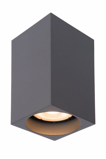 Picture of ALUMINIUM CUBE CEILING LIGHT ANTHRACITE FINISH