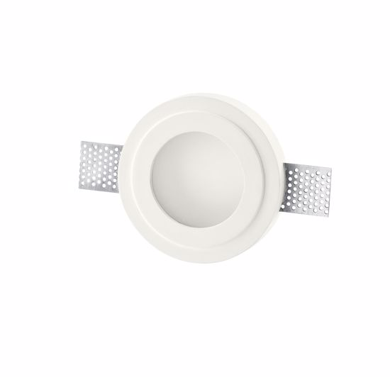 Picture of ISYLUCE RECESSED SPOTLIGHT GYPSUM AND GLASS ROUND
