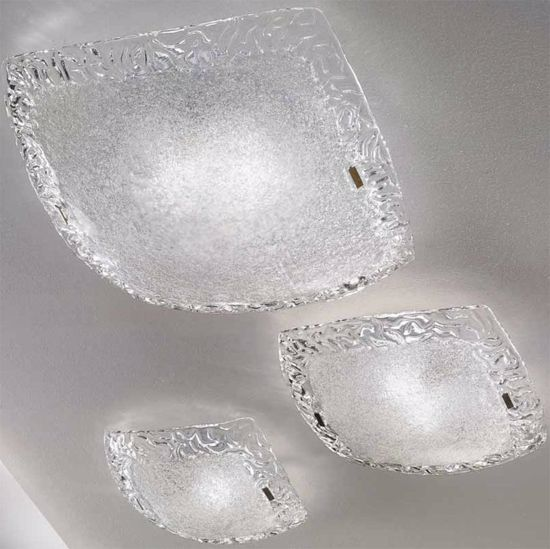 Picture of LINEA LIGHT SYBERIA CEILING LAMP CRYSTAL 32CM