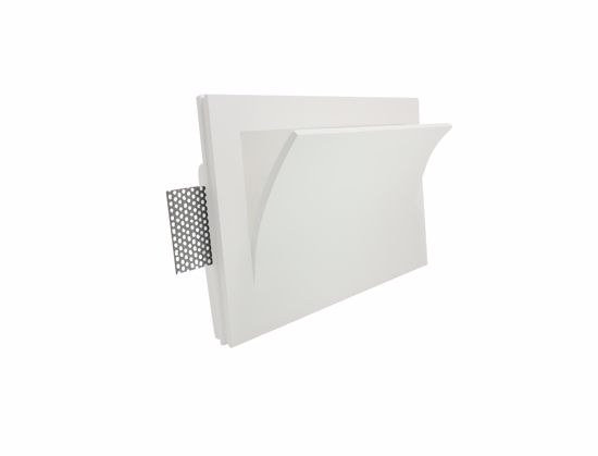 Picture of SIKREA LED GI639/30 GYPSUM RECESSED LED WALL LAMP 18W 3000K DRIV INCL