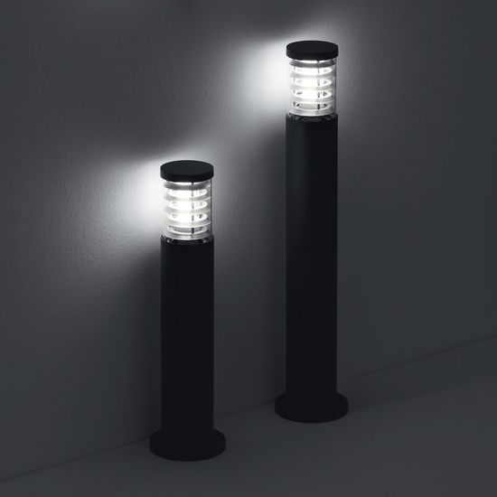 Picture of IDEAL LUX TRONCO WALL LAMP FOR GARDEN PT1 SMALL ANTHRACITE
