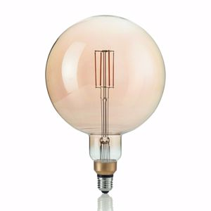 Picture of LAMPADINA GLOBO BIG LED 4W 2200K DIMMERABILE VINTAGE FILAMENTO VETRO AMBRATO