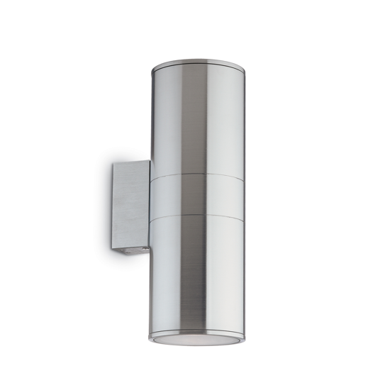Picture of IDEAL LUX GUN AP2 BIG OUTDOOR WALL LAMP ALUMINIUM