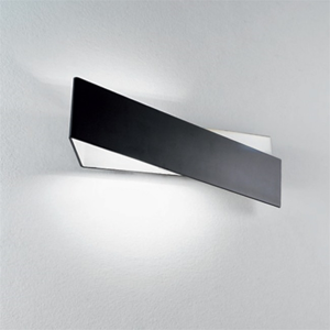 Picture of LINEA LIGHT ZIG ZAG WALL LAMP 58CM BLACK