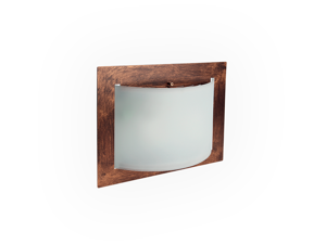Picture of LINEA LIGHT MET WALLY CEILING LAMP 33X25 RUST